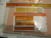 Schreibschablonen Standardgraph für Normschrift