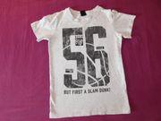 T-Shirt für Jungs Hellgrau Grau