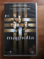 Magnolia VHS Tom Cruise Julianne