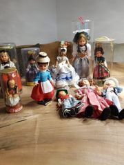 Sammler Puppen Trachten 22 Stück