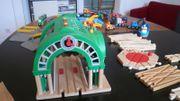 Brio Spielzeug-Holzeisenbahn