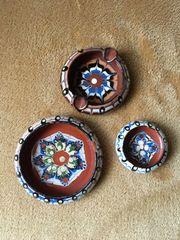 Bulgarische Schalen Aschenbecher