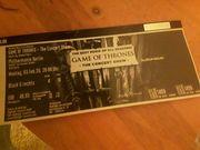 Game of Thornes Karte für
