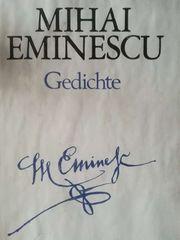 Mihai Eminescu Gedichte