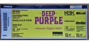 DEEP PURPLE Live Konzert Golden