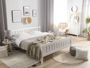 Holzbett weiß Lattenrost 160 x