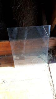 Glasscheibe 48x60cm wie neu