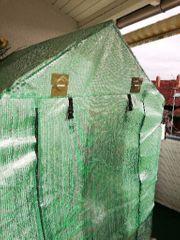 Folien-Gewächshaus mit BODEN-Ausstattung