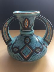 Keramik Vase aus Tunesien 16cm