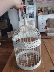 deko vogel käfig