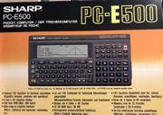 Taschencomputer SHARP PC-E500 - guter Zustand