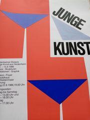 Vonhoff Plakat Junge Kunst Heidenheimer