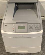 Lexmark T654dn Drucker Duplex Netzwerk
