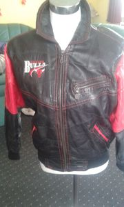 Verkaufe Original Chicago Bulls Lederjacke