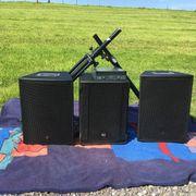 PA Anlage für Musiker und