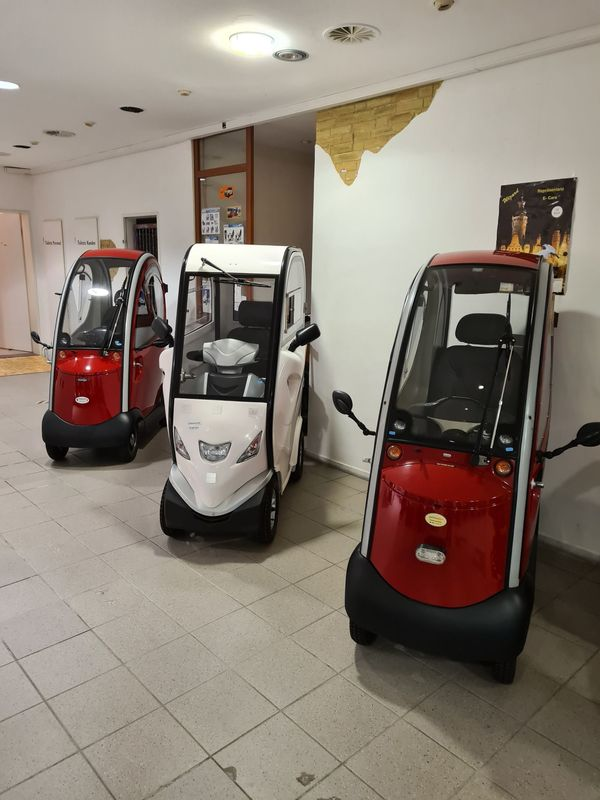 Elektromobil Kabinenmodell
