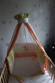 Baby-Set bestehend aus Nestchen Himmel