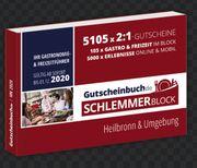 Schlemmergutschein Block 2020 incl Gutschein