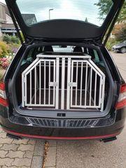 Hundetransportbox von Schmitt für Skoda