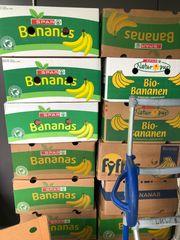 Bananenschachteln