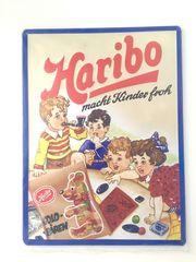 Embalit Blech Schild Werbung Haribo