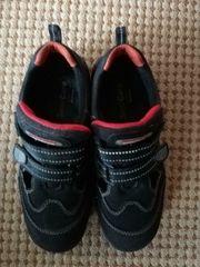 Damen Sicherheitsschuhe Sandale schw rot