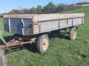Traktoranhänger 2 Achser Anhänger Plattformanhänger