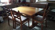 Eckbankgruppe mit 3 Stühlen