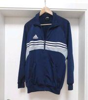 adidas Trainingsjacke blau Weste Jacke