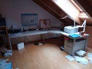 Großer Schreibtisch L-Form