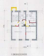 teilmöblierte 2 Zimmer Wohnung Ettlingen-Stadt