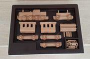 Holzspielzeug Krom-Zug-Kombipackung