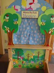 Puppentheater Winnie Pooh Holz Puppen