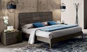 Bett Doppelbett Schlafzimmer Futonbett Hochglanz