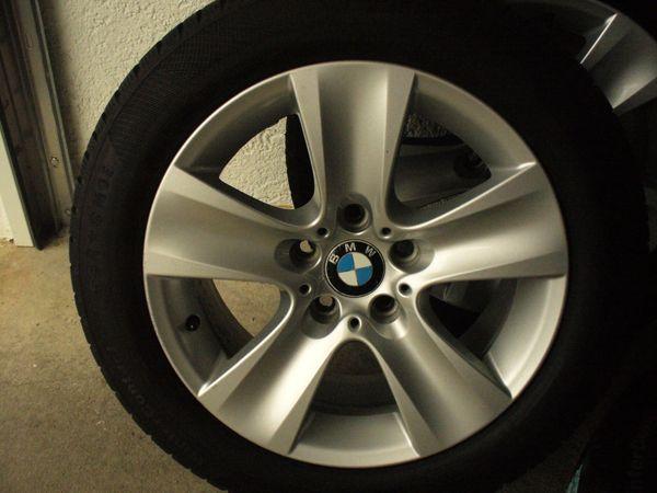 4 Kompletträder BMW ALU-Sternfelgen neue