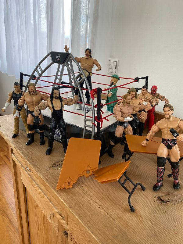 WrestleMania Figuren 25th Anniversary