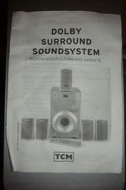 TCM Dolby Surround Lautsprecher Surroundsystem