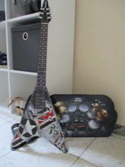 Paper Jamz- Gitarre und Schlagzeug