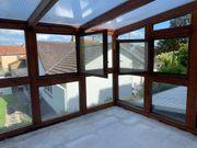 Isolierglas Fensterglas bereits ausgebaut