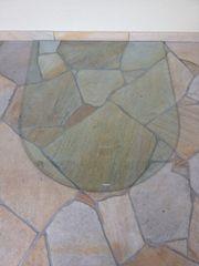 Glas Bodenplatte für Kaminofen