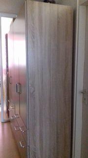 Kleiderschrank 4 Türen 8 Schubkästen