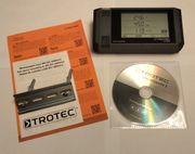 Trotec Feuchte Datenlogger DL200h LAN