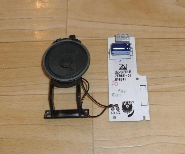 Siedle ZER 611-0 Elektronisches Rufsignal