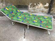 klappbare Sonnenliege faltbarer Liegestuhl Gartenmöbel