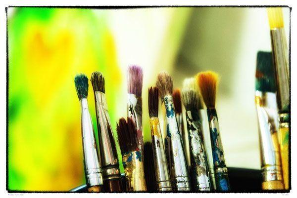 Malen im Atelier - Gutschein - auch
