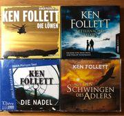 Hörbücher Ken Follett 4 Stück