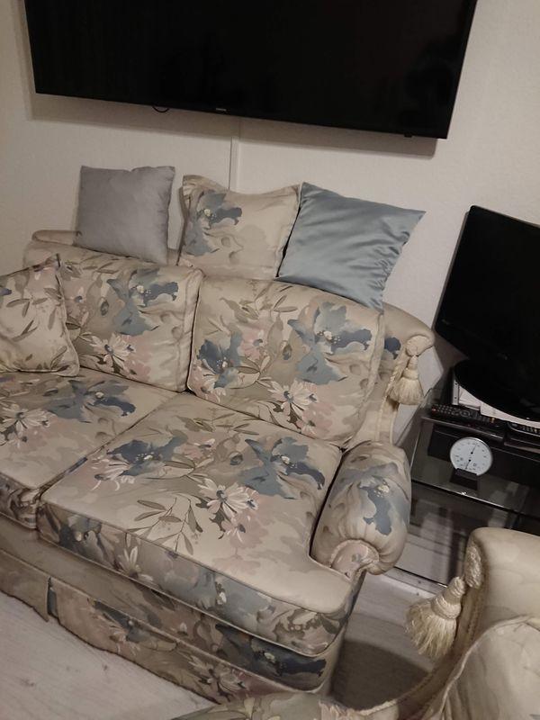 Couchgarnitur hochwertg zeitlos Design