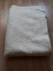 Bettdecke reine Schurwolle wenig benutzt