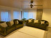 2x Big Sofa Couch Sitzgarnitur