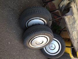 Sonstige Felgen, Radkappen - Original Mercedes Benz Radkappen 15